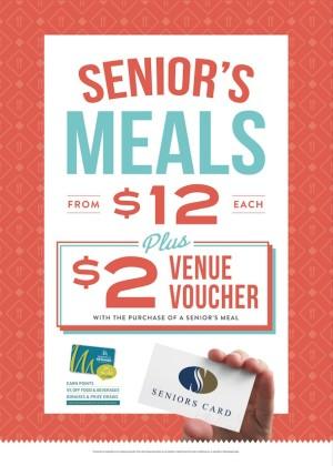 $12 Seniors Meals