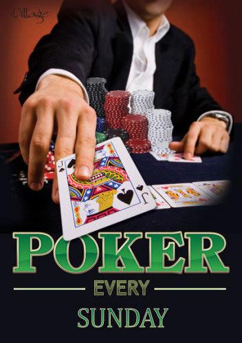 Sunday Poker @ Village Green