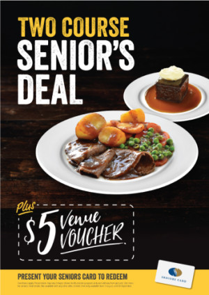 Two Course Senior's Deal