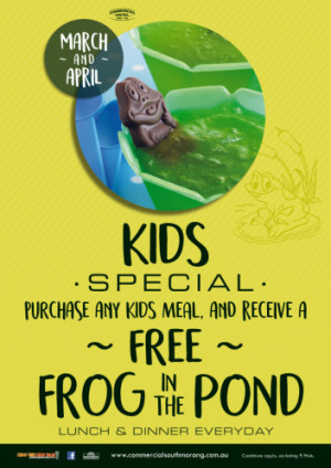 Kids Frog in the Pond Special