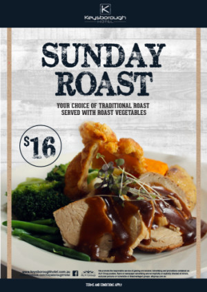 Sunday $16 Roast