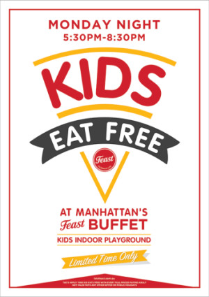 Monday Night Kids Eat Free