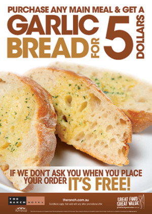 $5 Garlic Bread