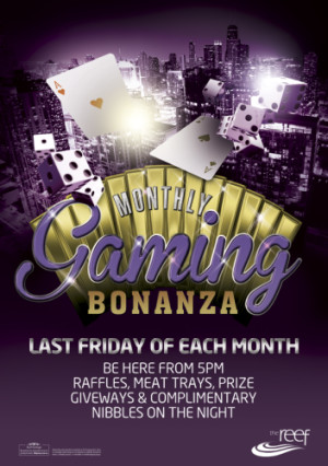 Monthly Gaming Bonanza