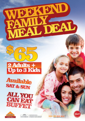 Weekend Family Meal Deal