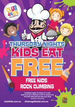 Thursday Nights Kids Eat Free