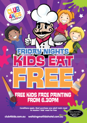 Kids Eat Free Friday Nights