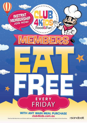 KIDS EAT FREE FRIDAYS