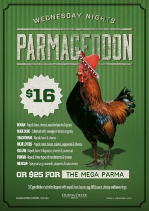 Wednesday Night Parmageddon