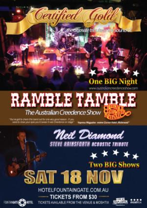 Ramble Tamble Certified Gold Show