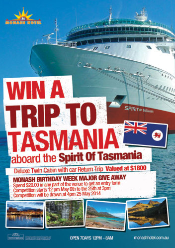 Win A Trip To Tasmania!